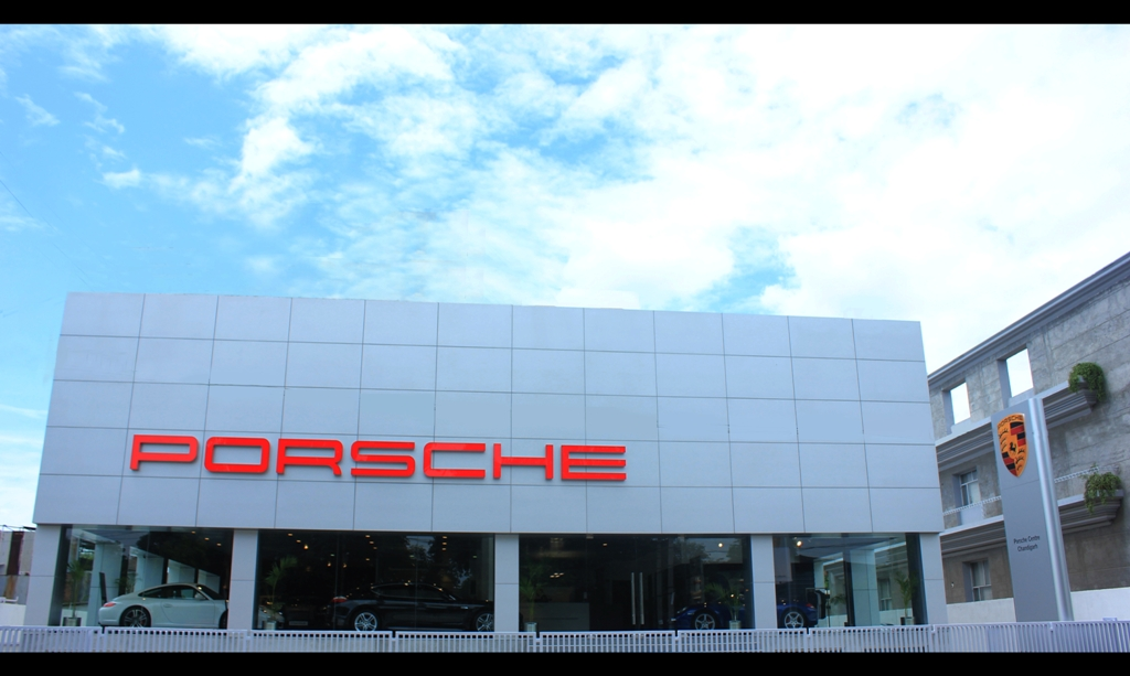 Porsche Opens New Dealership In Chandigarh The 5th In India The