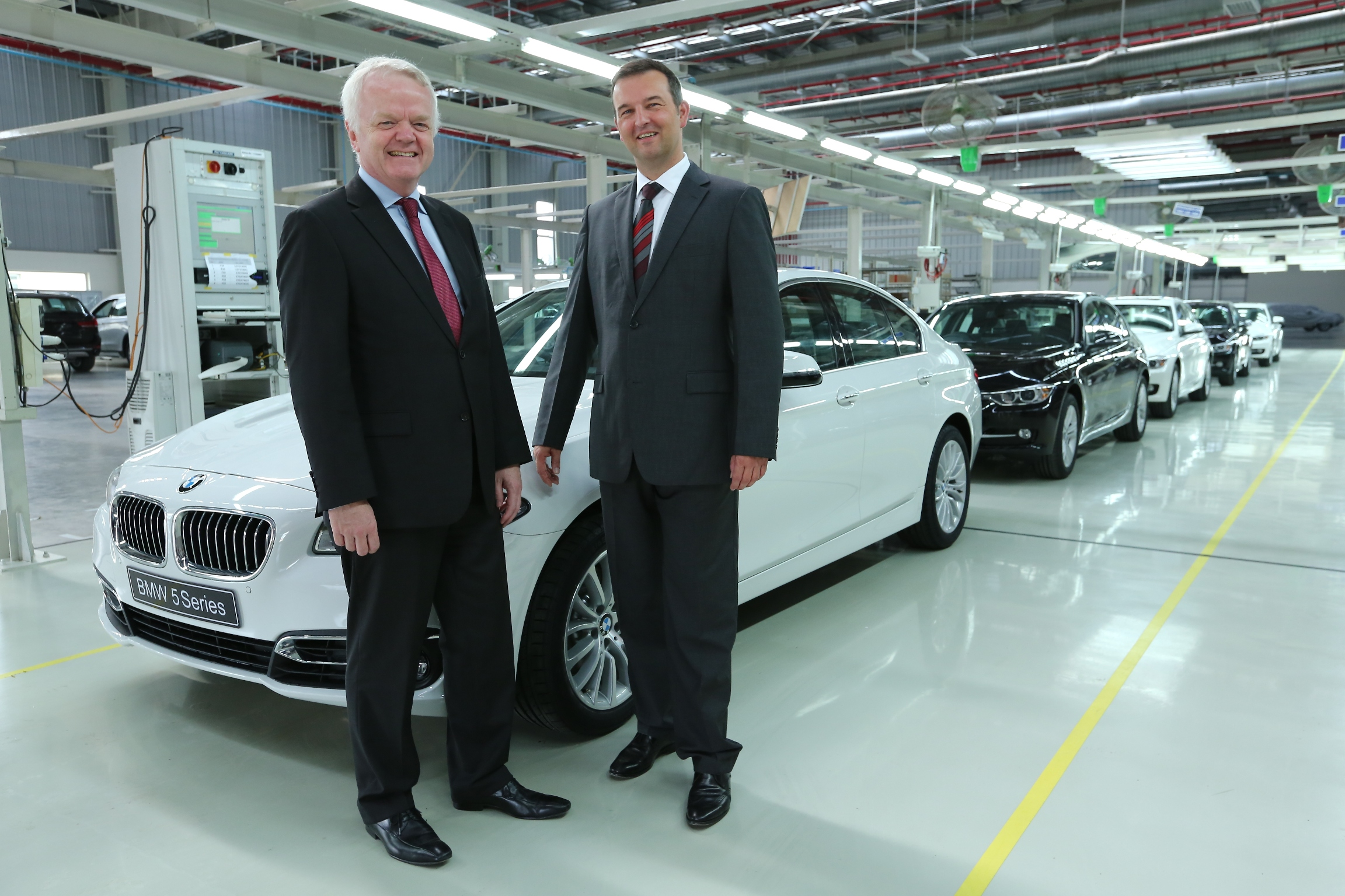 Bmw Rolls Out 40 000th Locally Produced Car In India The Dippy Car